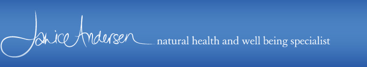 Janice Andersen Logo Natural health and well being specialist